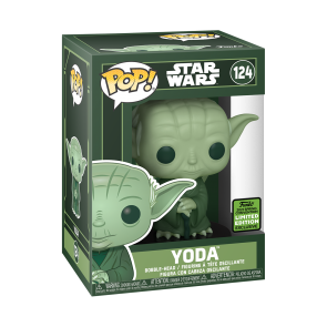 Star Wars - Yoda Green ECCC 2021 Pop! Vinyl
