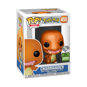 Pokemon - Charmander DGL ECCC 2021 Pop! Vinyl
