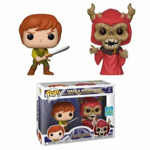 Black Cauldron - Taran Hornd King Pop! Vinyl 2-pack SDCC 2019
