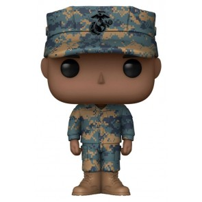 US Military: Marines - Male African American Pop! Vinyl