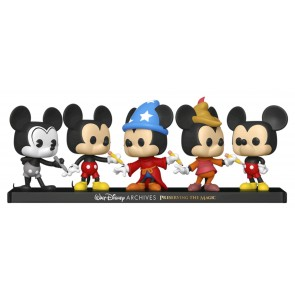Mickey Mouse - Mickey Mouse US Exclusive Pop! Vinyl 5-Pack