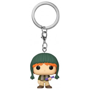 Harry Potter - Ron Holiday Pocket Pop! Keychain