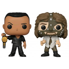 WWE - The Rock vs Mankind US Exclusive Pop! Vinyl 2-pack