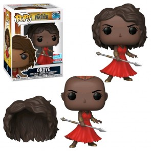 Black Panther - Okoye w/Red Dress Pop! Vinyl NYCC 2018