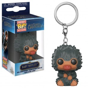 Fantastic Beasts 2: The Crimes of Grindelwald - Baby Niffler Grey Pocket Pop! Keychain