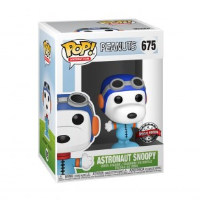 Peanuts - Snoopy as Astronaut (No Helmet) US Exclusive Pop! Vinyl