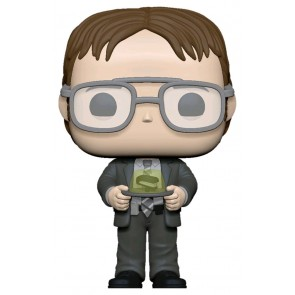 The Office - Dwight with Jello Stapler Pop! Vinyl