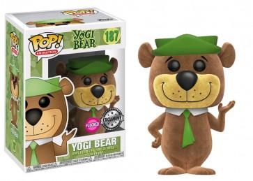 Yogi Bear - Yogi Bear Flocked Exclusive Pop! Vinyl