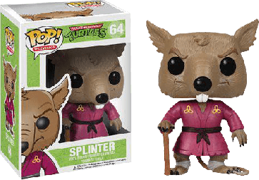 Teenage Mutant Ninja Turtles - Splinter Pop! Vinyl Figure