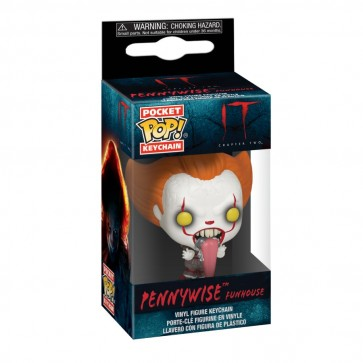 It: Chapter 2 - Pennywise Funhouse Pocket Pop! Keychain