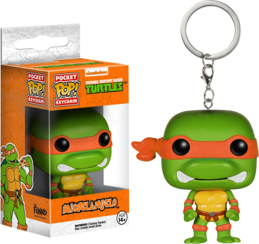 Teenage Mutant Ninja Turtles - Michelangelo Pocket Pop! Keychain