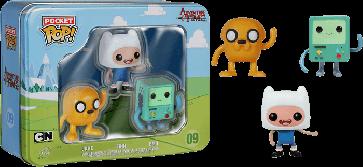 Adventure Time - BMO, Jake & Finn Pocket Pop! 3-Pack Tin