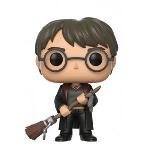 Harry Potter - Harry with Firebolt US Exclusive Pop! Vinyl