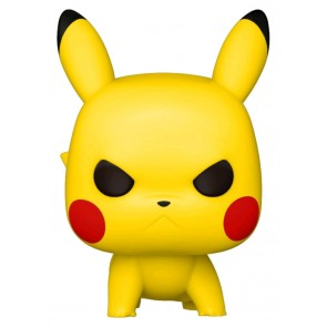 Pokemon - Pikachu (Angry Crouching) Pop! Vinyl