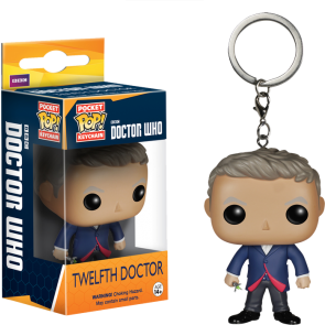 Doctor Who - 12th Doctor Pocket Pop! Keychain