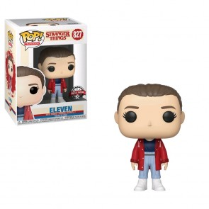Stranger Things - Eleven with Slicker US Exclusive Pop! Vinyl