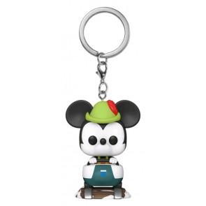 Disneyland 65th Anniversary - Mickey Matterhorn Pocket Pop! Keychain