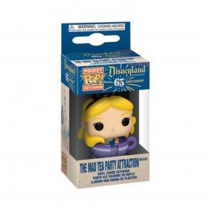 Disneyland 65th Anniversary - Alice in Teacup Pocket Pop! Keychain