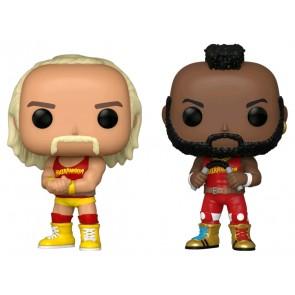 WWE - Hulk Hogan & Mr T US Exclusive Pop! Vinyl 2-pack