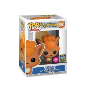 Pokemon - Vulpix Flocked Pop! Vinyl SDCC 2020