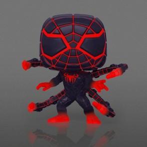 Marvel's SpiderMan: Miles Morales - Programmable Matter Suit Glow US Exclusive Pop! Vinyl