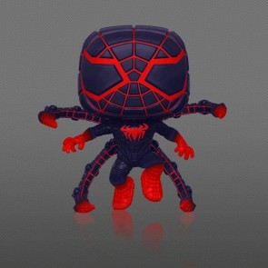 Marvel's Spider-Man: Miles Morales - Programmable Matter Pose Glow US Exclusive Pop! Vinyl