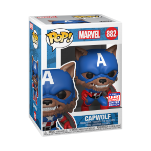 Captain America - Capwolf Year of the Shield Pop! Vinyl SDCC 2021