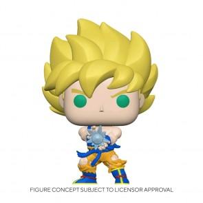 Dragon Ball Z - Super Saiyan Goku with Kamehameha Wave Glow US Exclusive Pop! Vinyl