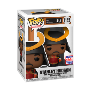 The Office - Stanley Hudson Warrior Pop! Vinyl SDCC 2021