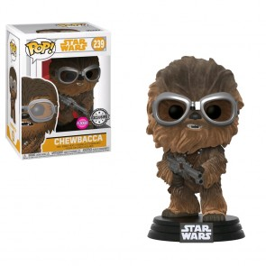 Star Wars: Solo - Chewbacca Flocked US Exclusive Pop! Vinyl