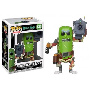 Rick and Morty - Pickle Rick with Laser Pop! Vinyl