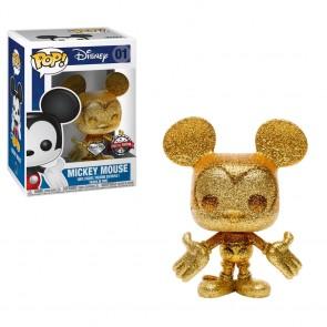 Mickey Mouse - Mickey Gold Diamond Glitter Pop! Vinyl