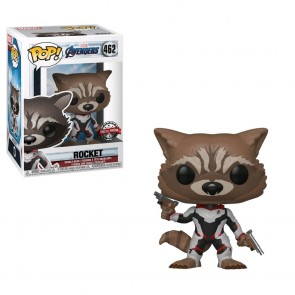 Avengers 4: Endgame - Rocket Team Suit US Exclusive Pop! Vinyl