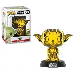 Star Wars - Yoda Gold Chrome SW19 Pop! Vinyl