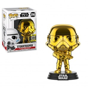 Star Wars - Stormtrooper Gold Chrome SW19 Pop! Vinyl