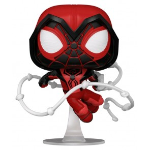 Marvel's Spider-Man: Miles Morales - Crimson Cowl Suit Pop! Vinyl