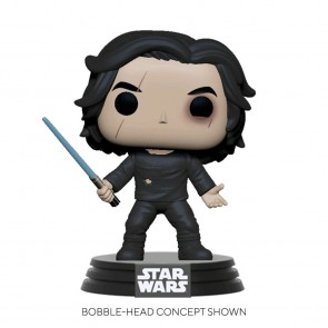 Star Wars - Ben Solo with Blue Saber Pop! Vinyl
