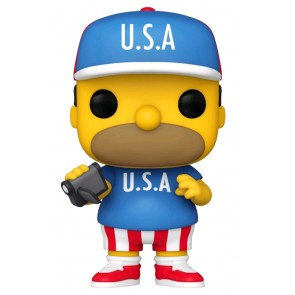 The Simpsons - Homer U.S.A. Pop! Vinyl