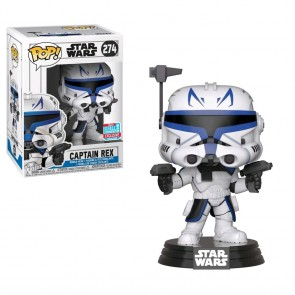Star Wars: Clone Wars - Captain Rex Pop! Vinyl NYCC 2018