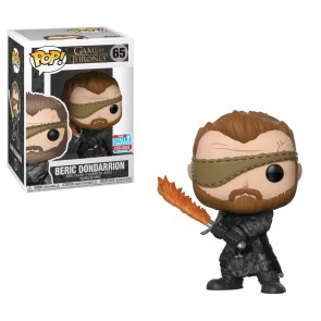 Game of Thrones - Beric w/Flame Sword Pop! Vinyl NYCC 2018