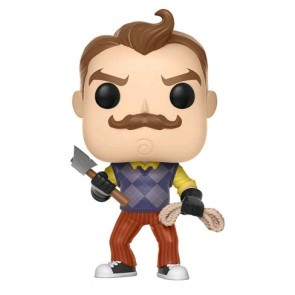 Hello Neighbor - The Neighbor with Axe & Rope US Exclusive Pop! Vinyl