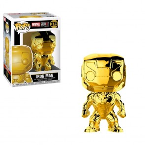 Marvel Studios 10th Anniversary - Iron Man Gold Chrome Pop! Vinyl