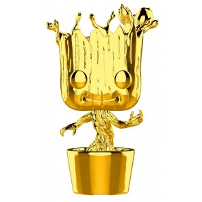 Marvel Studios 10th Anniversary - Groot Gold Chrome Pop! Vinyl