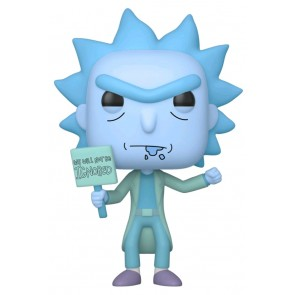 Rick and Morty - Hologram Rick (Ignored) Glow US Exclusive Pop! Vinyl