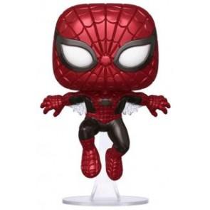 Spider-Man - Spider-Man First Appearance Metallic 80th Anniversary US Exclusive Pop! Vinyl
