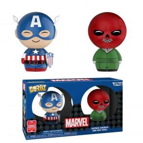 Captain America - Captain America & Red Skull Dorbz 2pk SDCC 2018