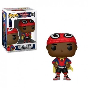 Spider-Man: Into the Spider-Verse - Miles Morales with Cape Pop! Vinyl
