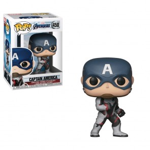 Avengers 4: Endgame - Captain America (Team Suit) Pop! Vinyl