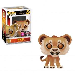 Lion King (2019) - Simba Flocked US Exclusive Pop! Vinyl