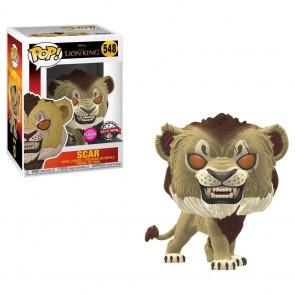 Lion King (2019) - Scar Flocked US Exclusive Pop! Vinyl